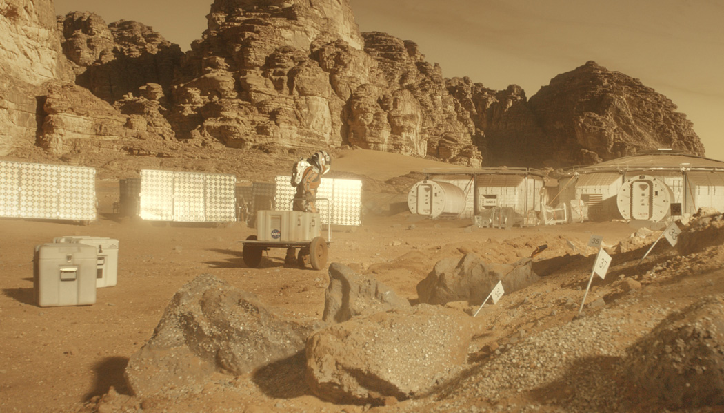 The Martian Richard Stammers Production Vfx Supervisor