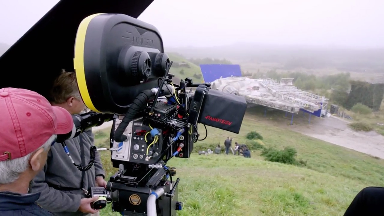 Panavision Camera Star Wars : Star wars episode vii the force awakens the art of vfxthe art