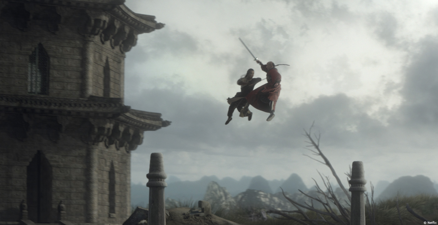 crouching tiger  hidden dragon  sword of destiny  mark stetson - overall vfx supervisor
