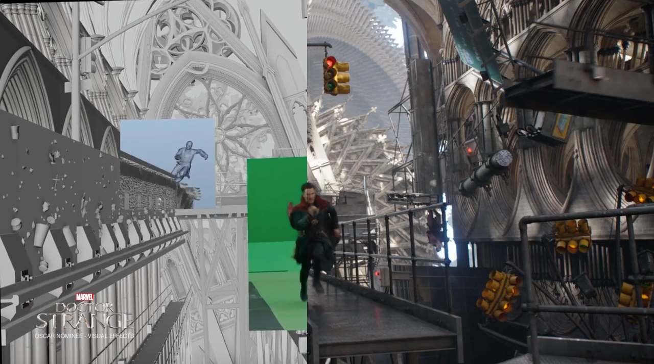 Doctor Strange Vfx Breakdown By Industrial Light Amp Magic