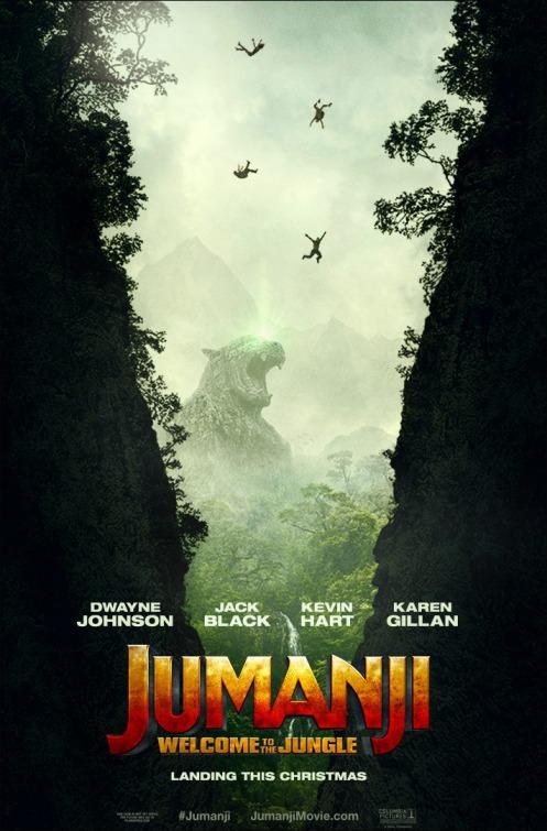 Jumanji Jungle Cast Movie Wallpaper