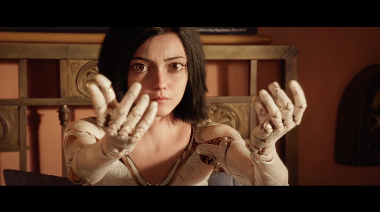 Alita Battle Angel The Art Of Vfxthe Art Of Vfx