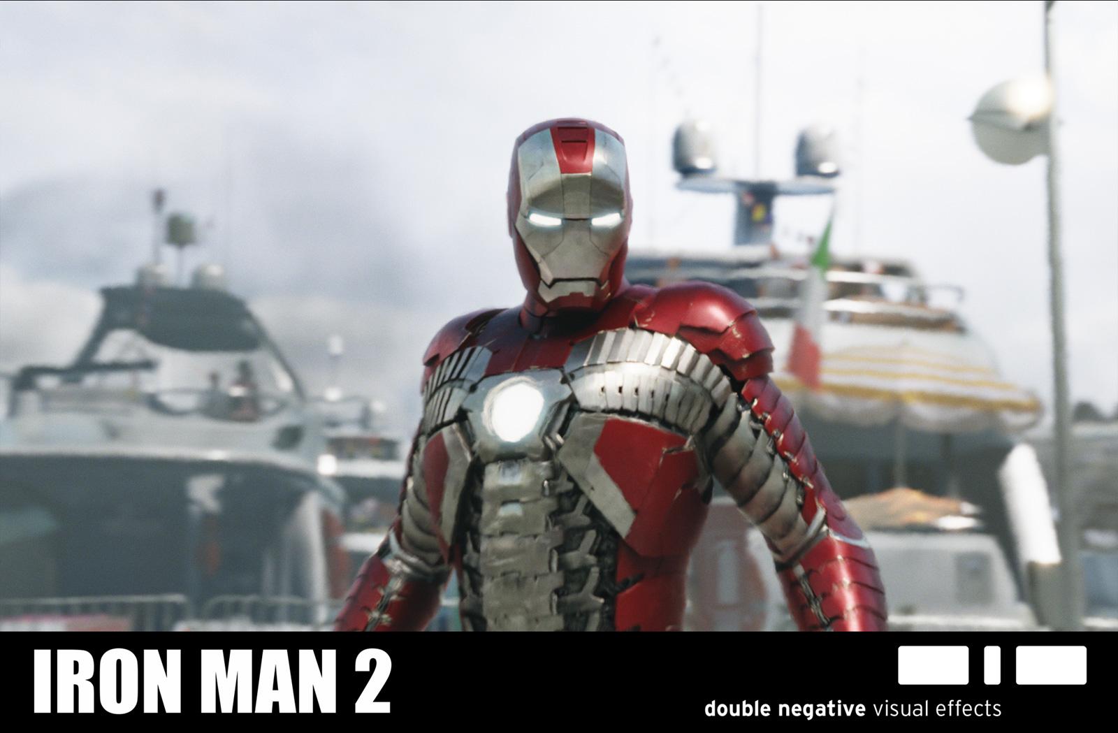 Iron Man 2: IRON MAN 2: Ged Wright