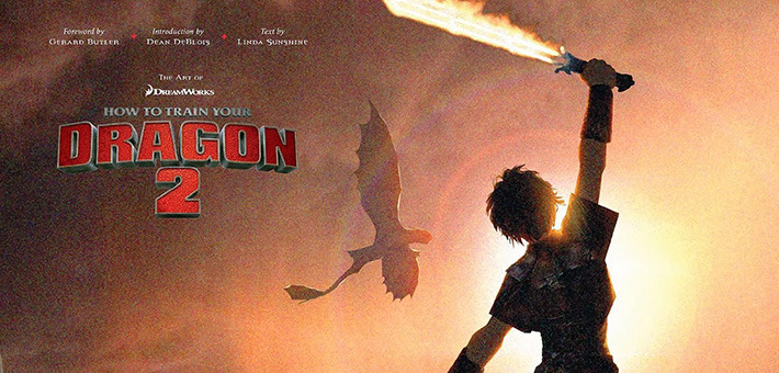 The Art Of How To Train Your Dragon 2 Linda Sunshine Titan Books The Art Of Vfxthe Art Of Vfx