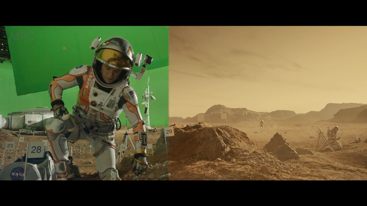 The Martian Vfx Breakdown By Mpc The Art Of Vfxthe Art