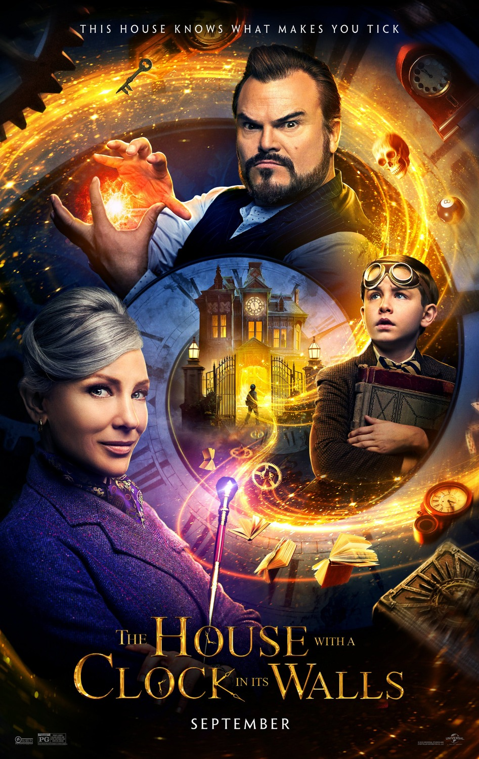 The House With A Clock In Its Walls The Art Of Vfxthe