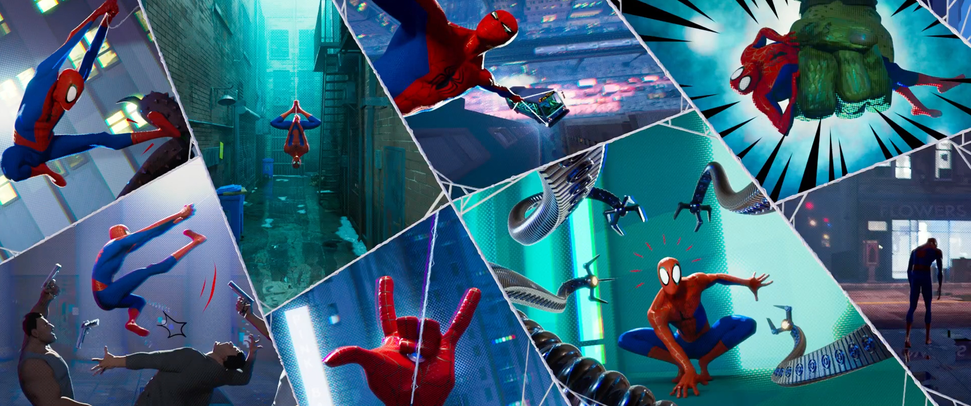 Resultado de imagen para spiderman into the spider verse