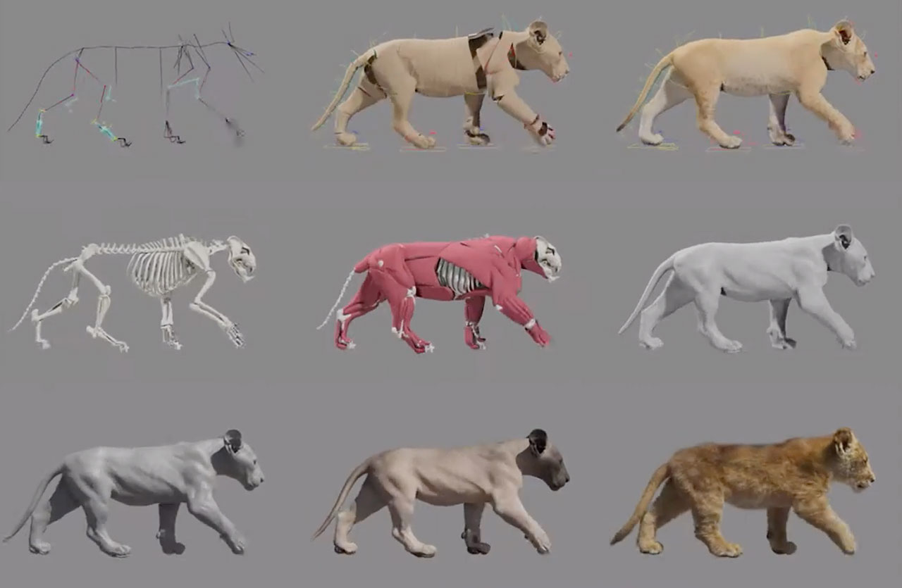 THE LION KING: Making of by MPC - The Art of VFX