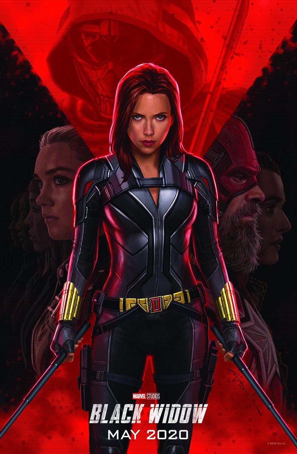 Black Widow (2020) Official Hindi Trailer 1080p HDRip