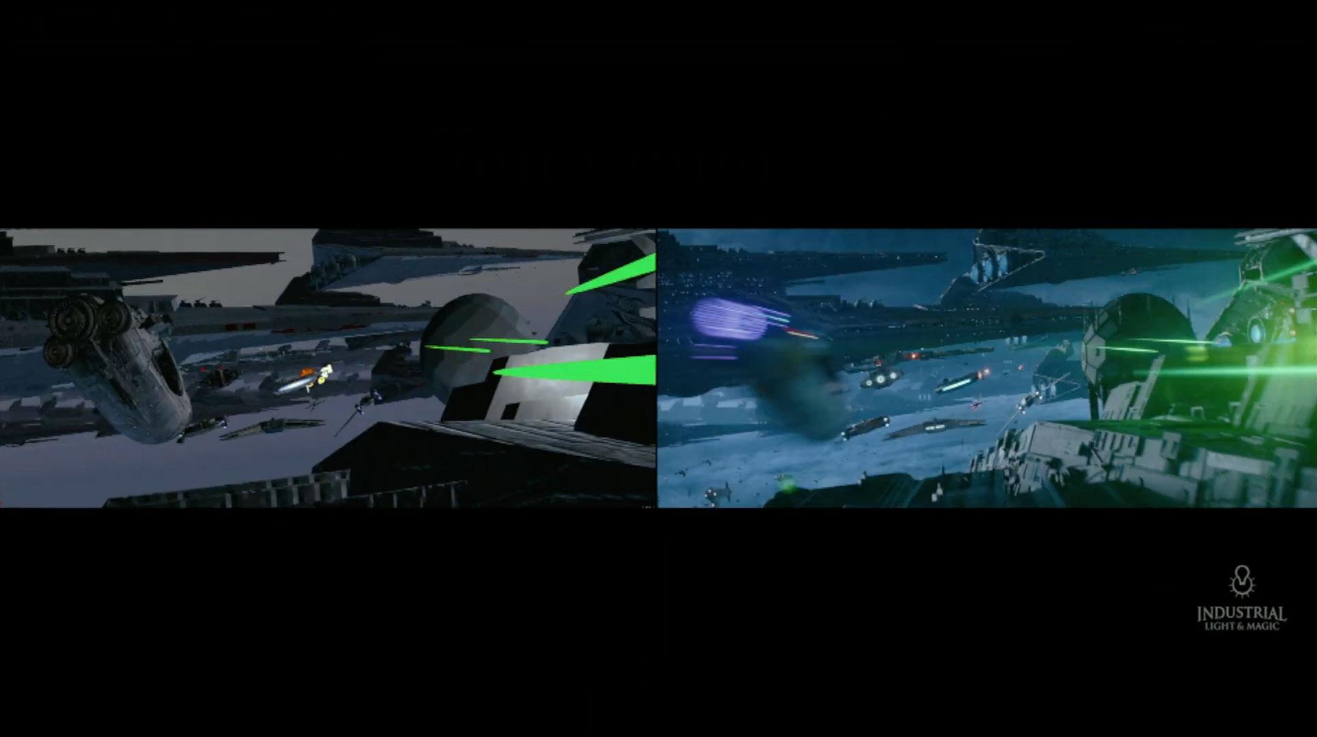 Star Wars The Rise Of Skywalker Vfx Video By Bbc Click The Art Of Vfxthe Art Of Vfx